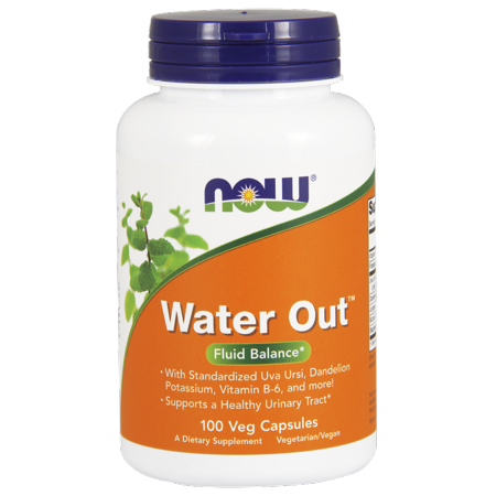 Now Vegetarian Water Out Fluid Balance  100 Ct