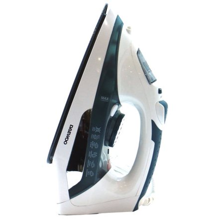 Daewoo Self Cleaning 220 Volt Steam Iron 220v for Europe Asia Africa 2200W (WILL NOT WORK IN NORTH AMERICA) ()
