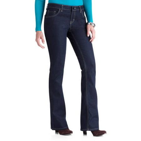 Genuine Dickies Women's Relaxed Fit 5-Pocket Bootcut Jeans