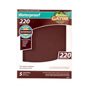 ALI INDUSTRIES 4474 5PK 9x11 220Grit Sandpaper
