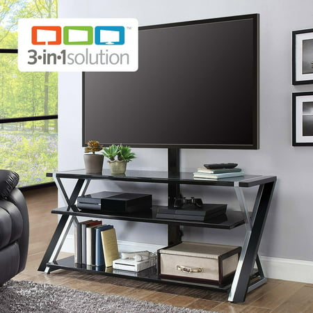 (Whalen Xavier 3-in-1 TV Stand for TVs up to 70
