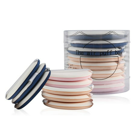 Cometic Replacement - Marainbow 8pcs Round Makeup Sponges , Beauty Face Primer Compact Powder Puff, Blender Sponge Replacement for Cosmetic Flawless Foundation, Sensitive and All Skin Types