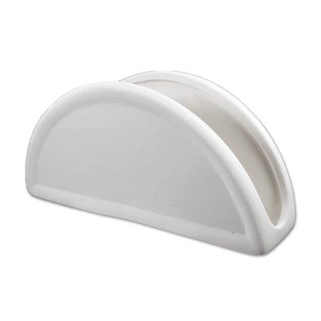 Ceramic Napkin Holder - Ceramic bisque bi488 unpainted unfinished Napkin Holder 7