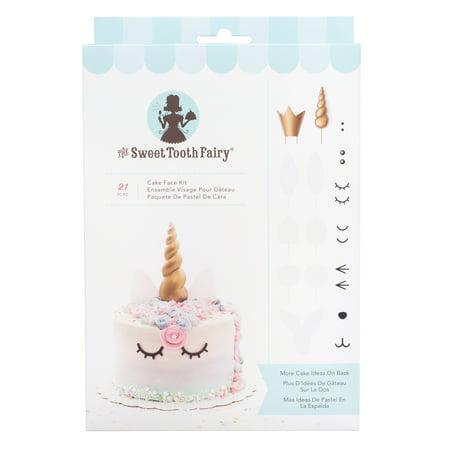 AC Sweet Tooth Fairy Cake Face Kit, 21pc (Fairy Cake Recipe Halloween)