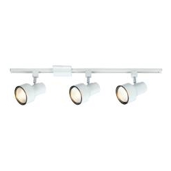 Head Track Light Kits With 3 Heads White by National Brand Alternative