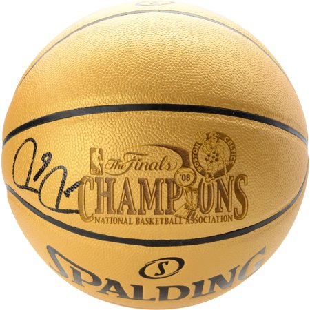 Paul Pierce Boston Celtics Autographed Spalding Gold 2008 NBA Champions Indoor/Outdoor Basketball - Fanatics Authentic