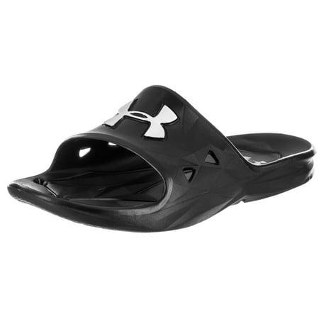 Under Armour Men's Locker III Sl Sandal (Under Armour Slide Sandals Youth)