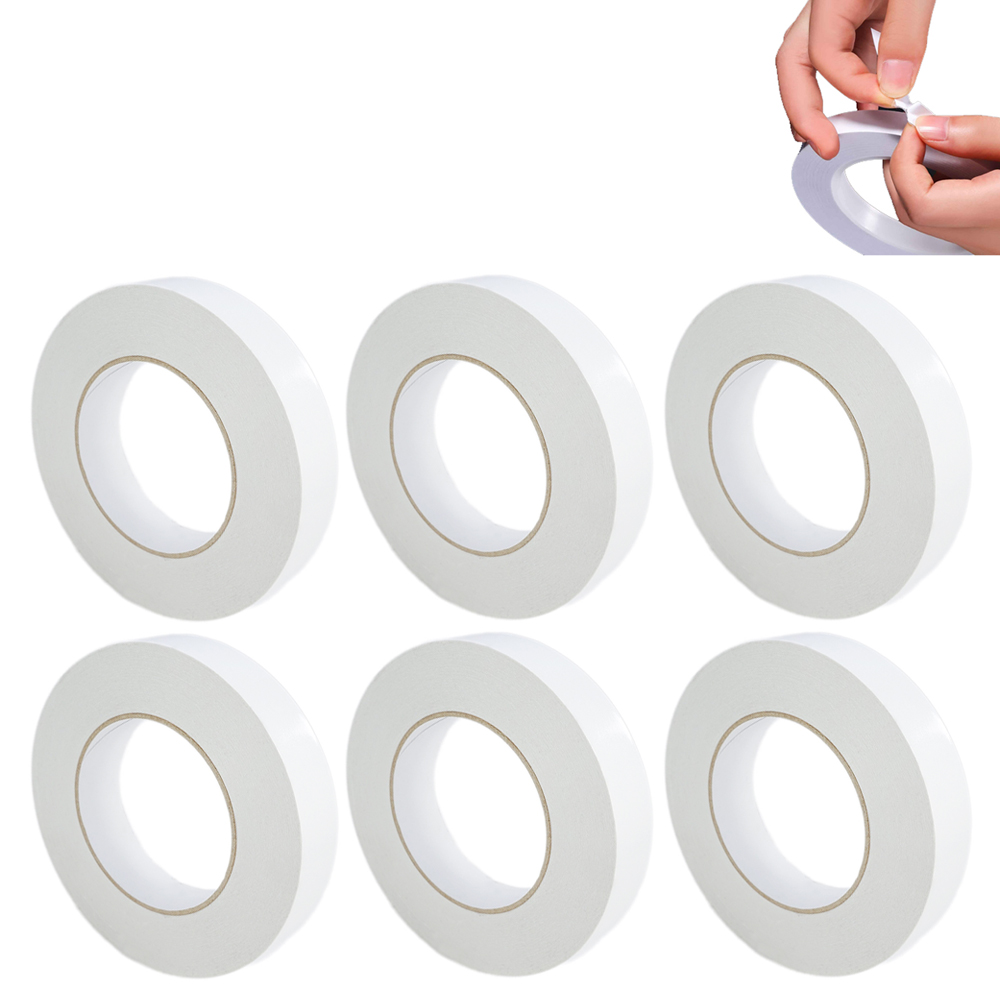 """6 Pc Double Sided Adhesive Foam Tape Automotive Car Truck Acrylic 3/4"""" x 16 FT"""