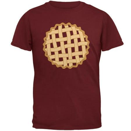 Halloween Lattice Pie Costume Strawberry Cherry Mens T Shirt
