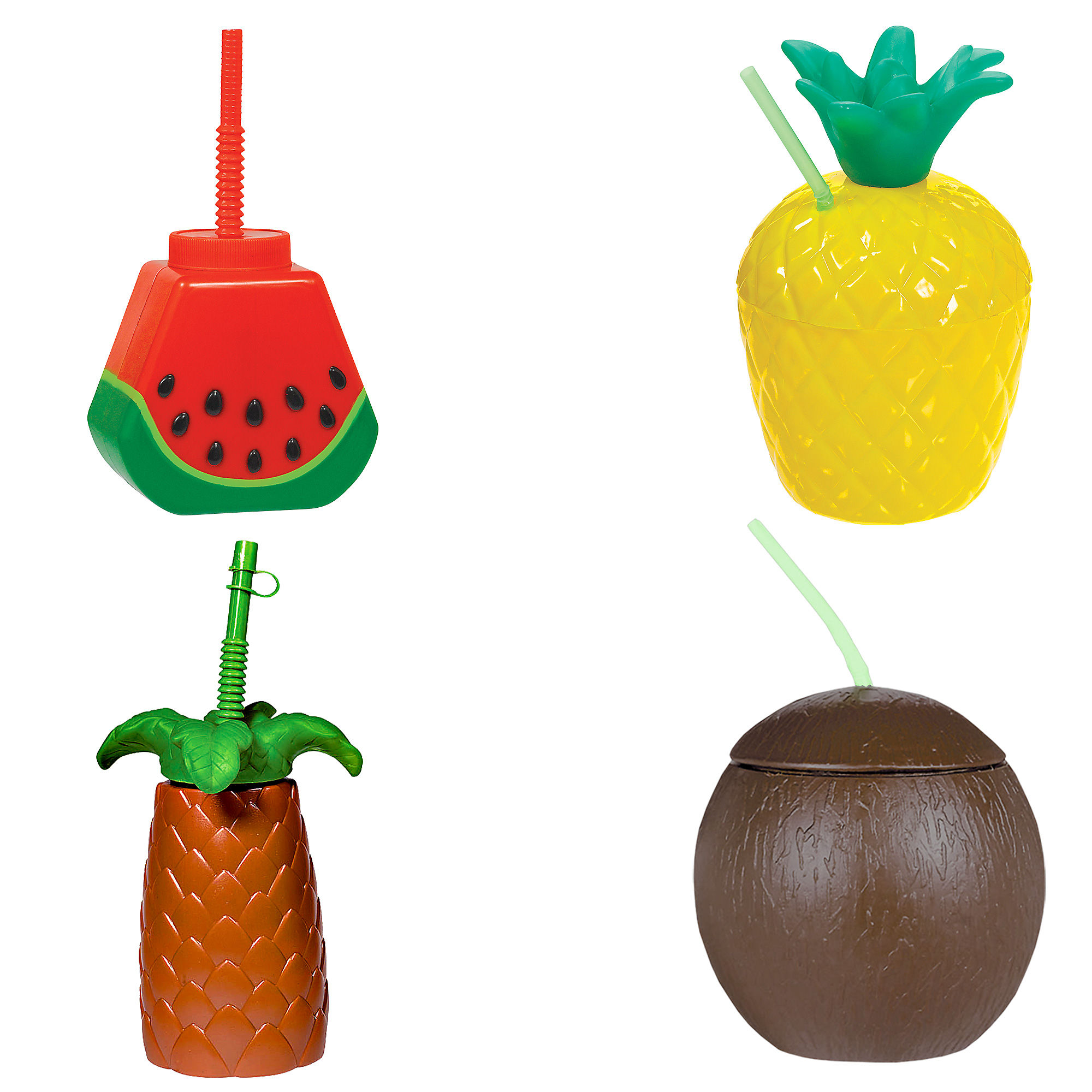 Tropical Fruit Bouquet Of Balloons Birthday Party Decor prop