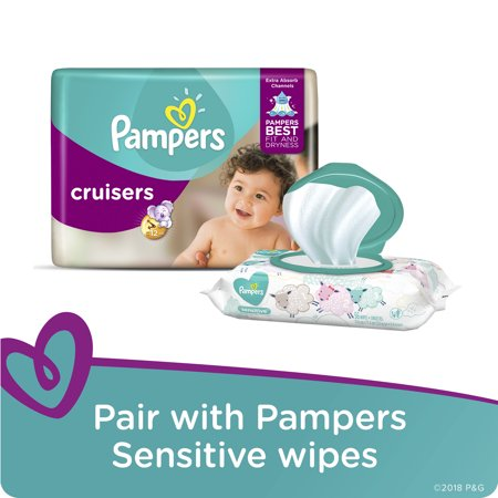 NEW Pampers Cruisers Diapers (Choose Size and Count)