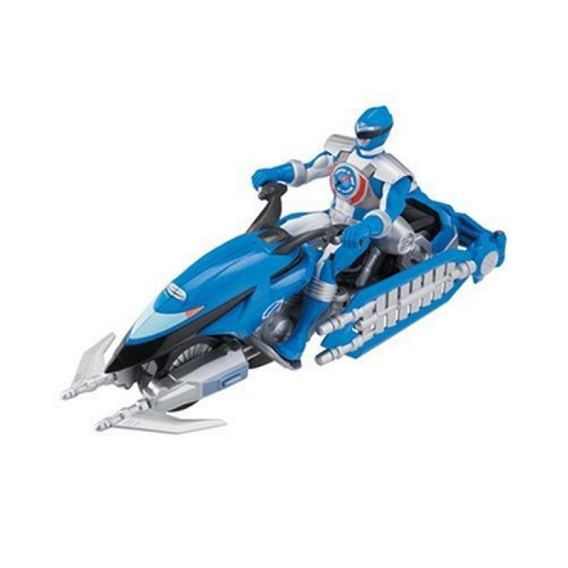 Power Ranger Operation Overdrive - Hovertek with Blue Ranger