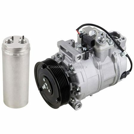 AC Compressor w/ A/C Drier For Audi A4 A6 S6 Quattro Audi 90 A/c Compressor