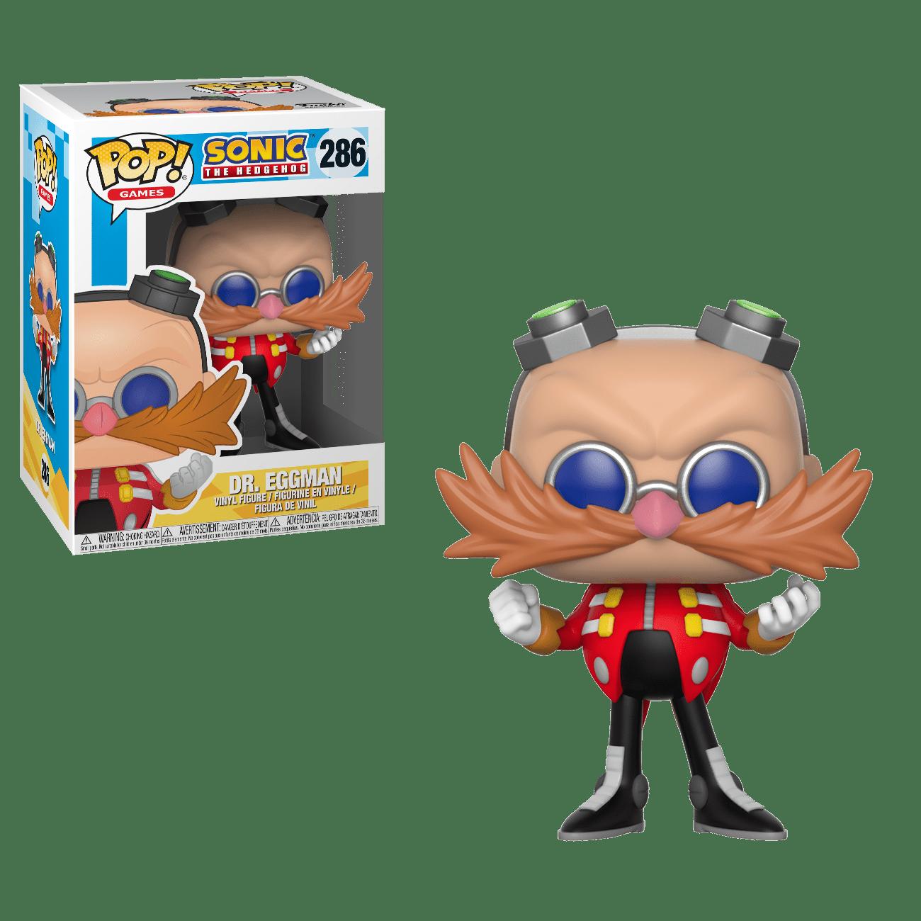 Funko Pop Games Sonic Dr Eggman Walmart Com Walmart Com