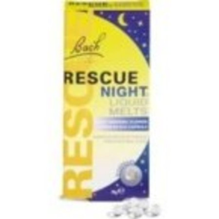 Bach Rescue Natural Sleep Remedy, Liquid Melts, 28 count - Natural Hot Flash Remedies