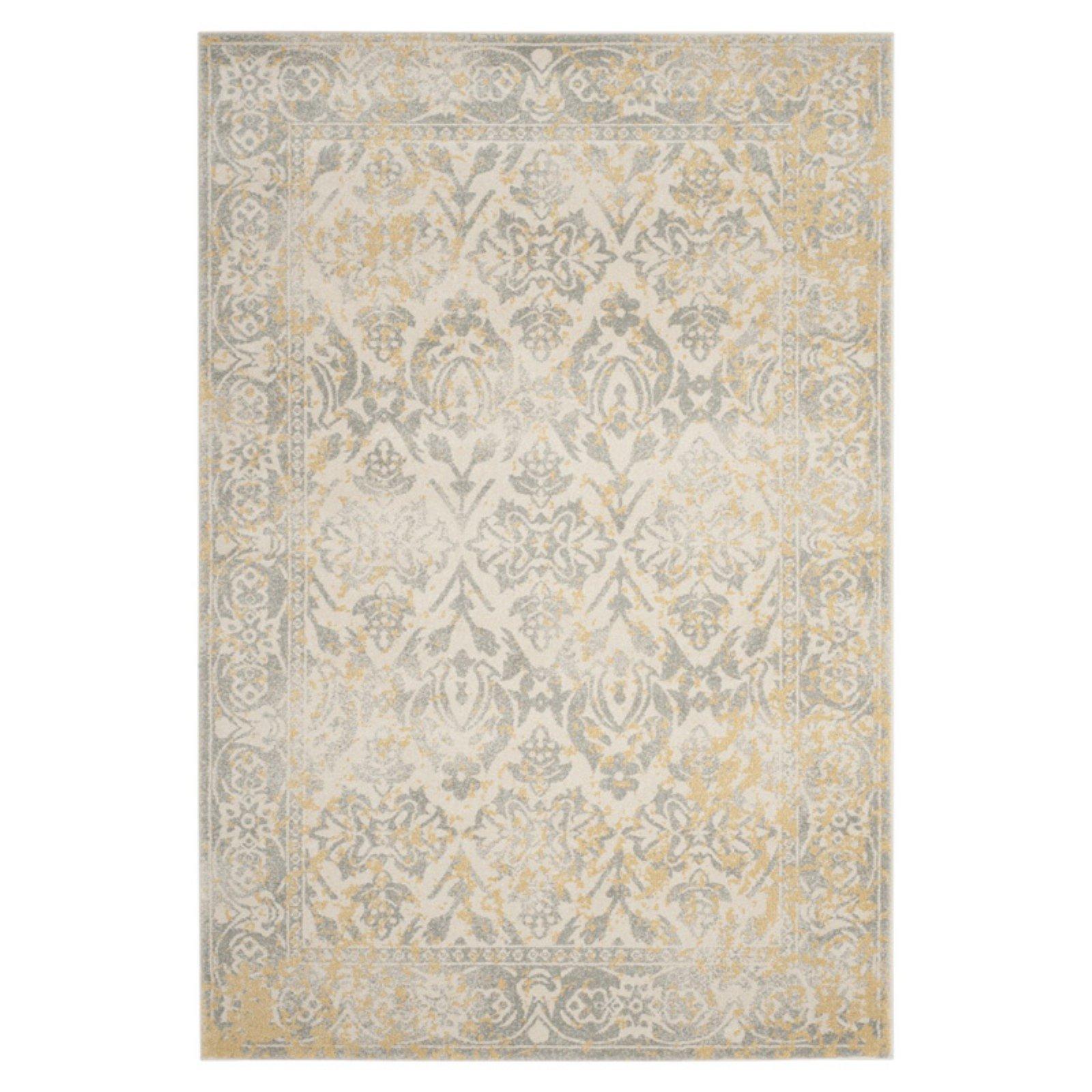 Safavieh Evoke EVK264D Indoor Area Rug - Ivory / Grey