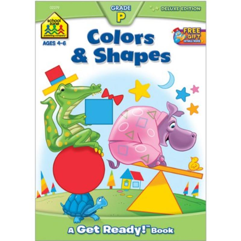 Workbooks-Colors and Shapes Grade P