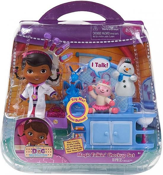 Disney Doc McStuffins Magic Talkin' Checkup Set Figure Set