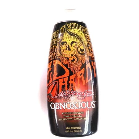 Ed Hardy Obnoxious Indoor Tanning Bed Lotion w/ Tingle &