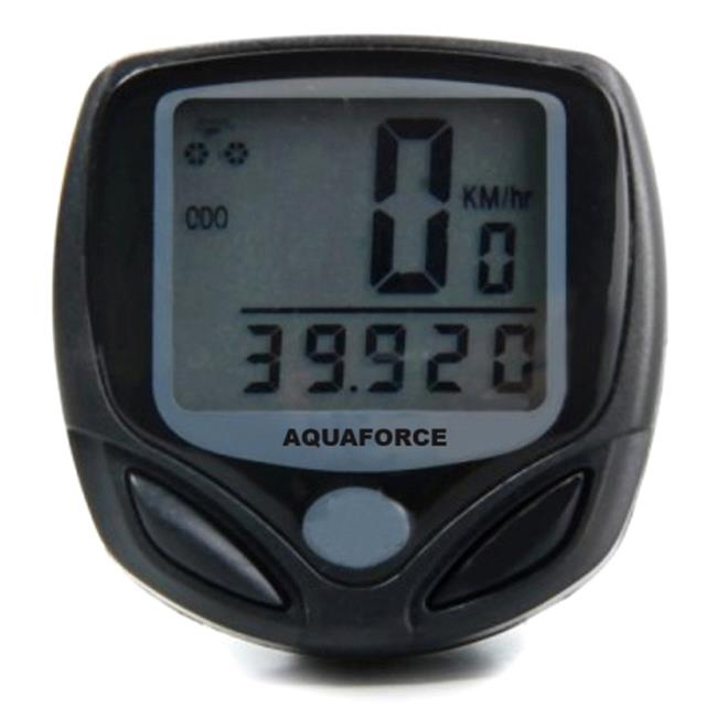 Aquaforce 46-001 Cycling Speedometer Click Watch