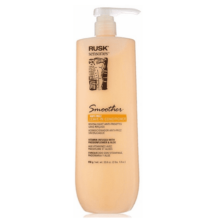 Aloe Smoothing Leave - RUSK Sensories Smoother Aloe Smoothing Leave-In Conditioner 33.8oz