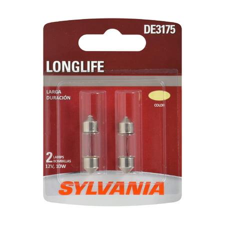 Sylvania DE3175 Long Life Halogen Auto Mini Bulb, Pack of 2.