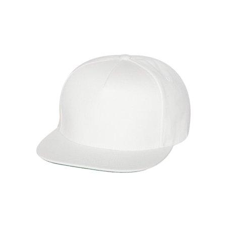 Yupoong Headwear Five-Panel Flat Bill Cap (Yupoong Flat)
