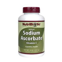 Sodium Ascorbate Powder Nutribiotic 8 oz Powder