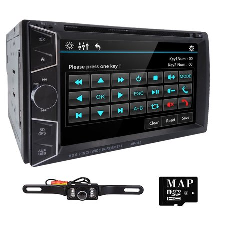 6 2inch Double DIN Car Multimedia Player GPS Navigation