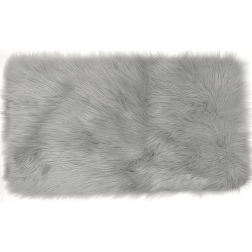 Home Dynamix Arctic Collection Faux Fur Area Rug