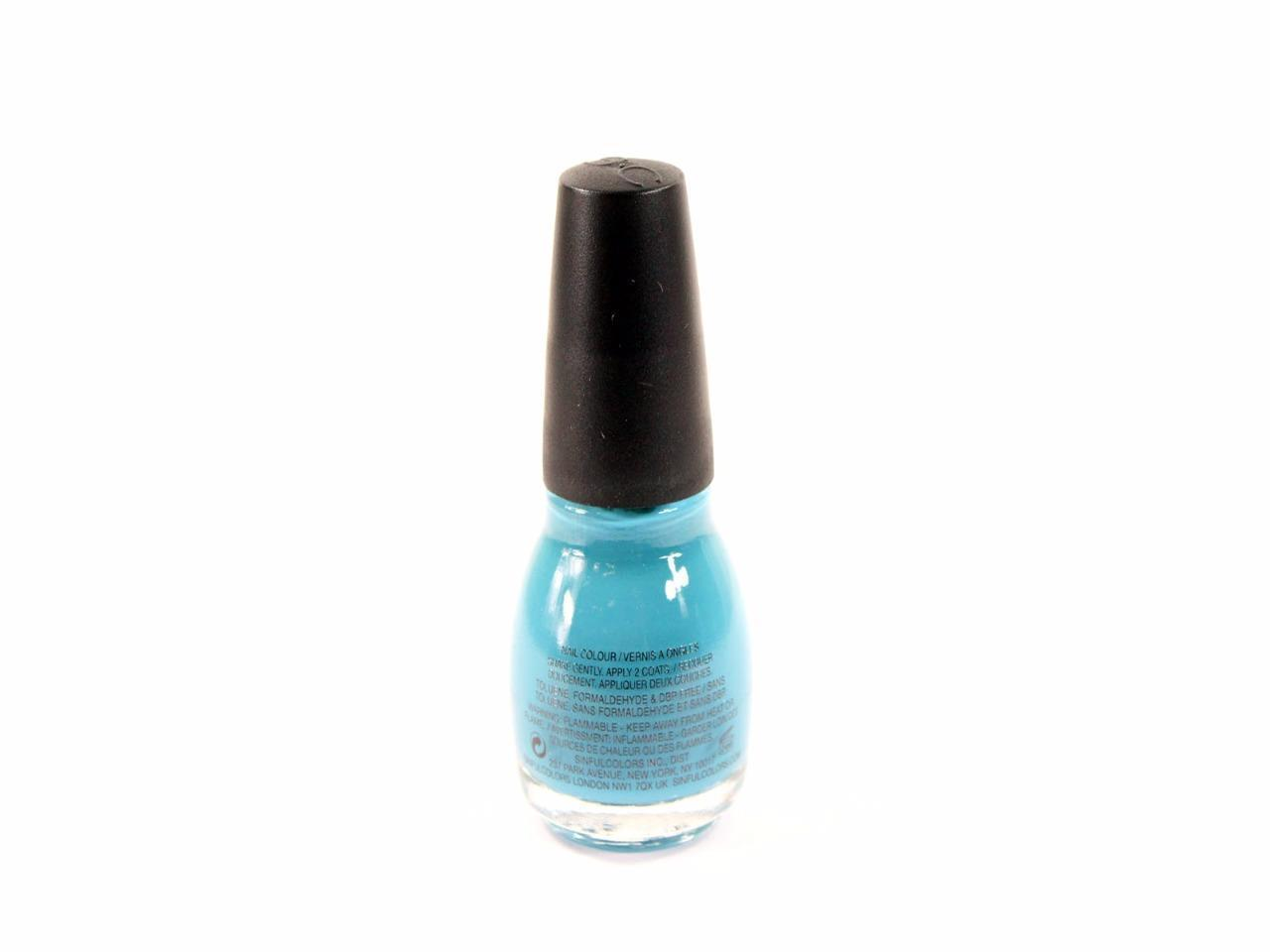 Set of 2 Sinful Colors Professional 0 5 Oz/15ml Savage #950 Nail Polish