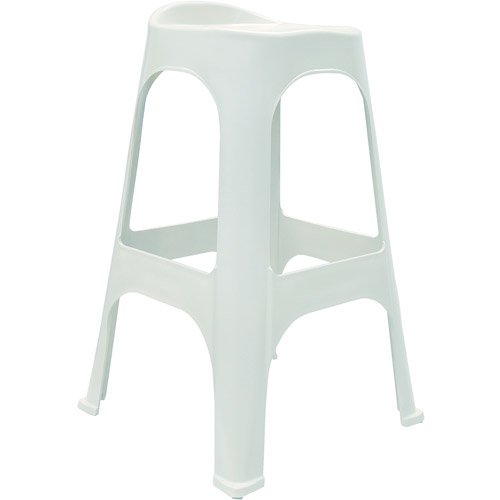 "Adams RealComfort 30"" Bar-Height Stools, Set of 2, White"