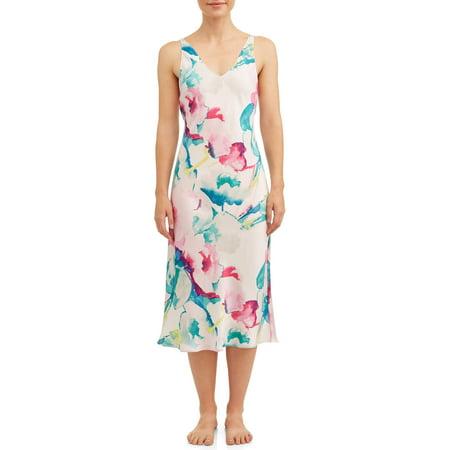 N Natori Women's Pastel Blossom Gown