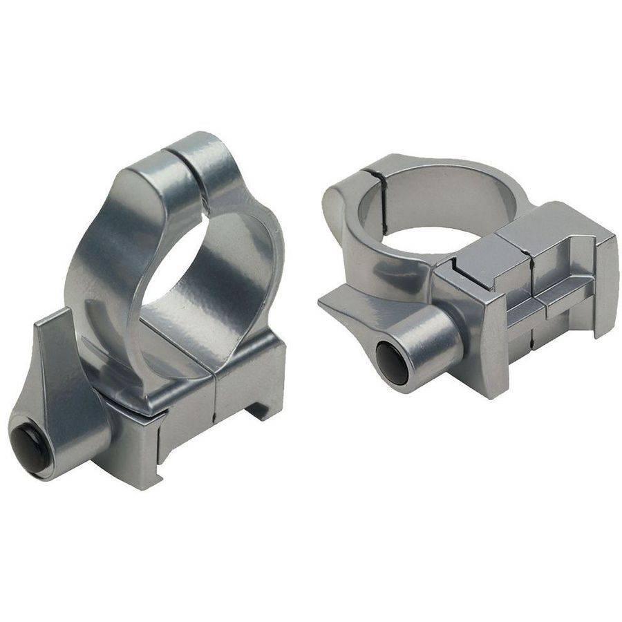 CVA DS400S Scope Rings Quick Release, Medium, Silver by CVA/BLACK POWDER PRODUCTS