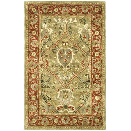 - Safavieh Persian Legend Jimney Hand-Tufted New Zealand Wool Area Rug