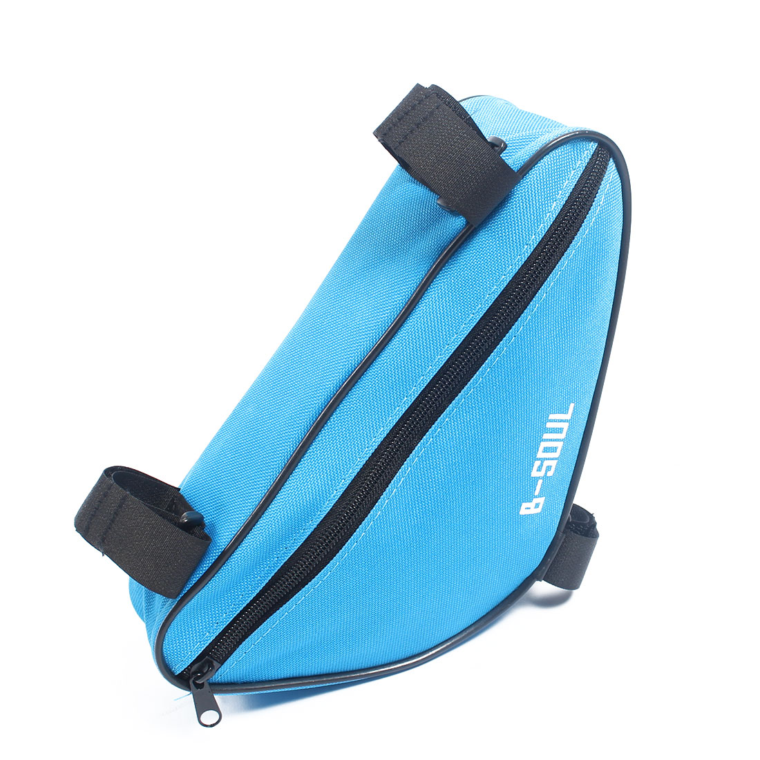 Cycling Bicycle Blue Front Frame Triangle Bag Pouch Holder B-SOUL Authorized