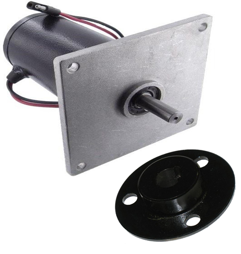 New 12 Volt Salt Spreader Motor & Hub Replaces Buyers 300-5414 300-5693