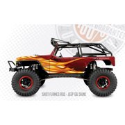 FreqEsKinz Red Shot Flames Wrap Axial G6 Jeep FRQ15026