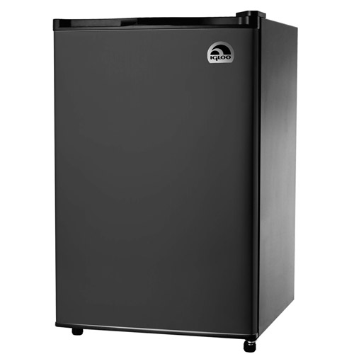 Igloo 4.5 cu ft Refrigerator and Freezer, Black