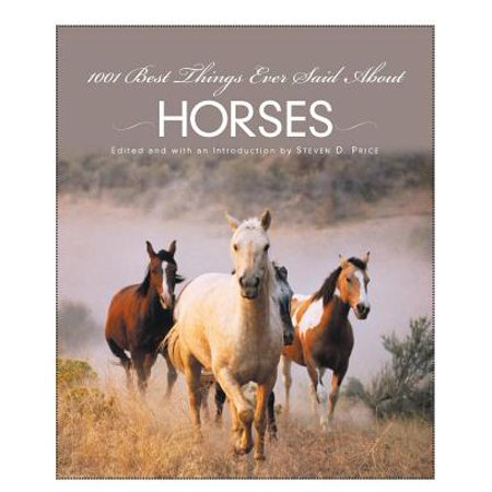 1001 Best Things Ever Said About Horses - eBook