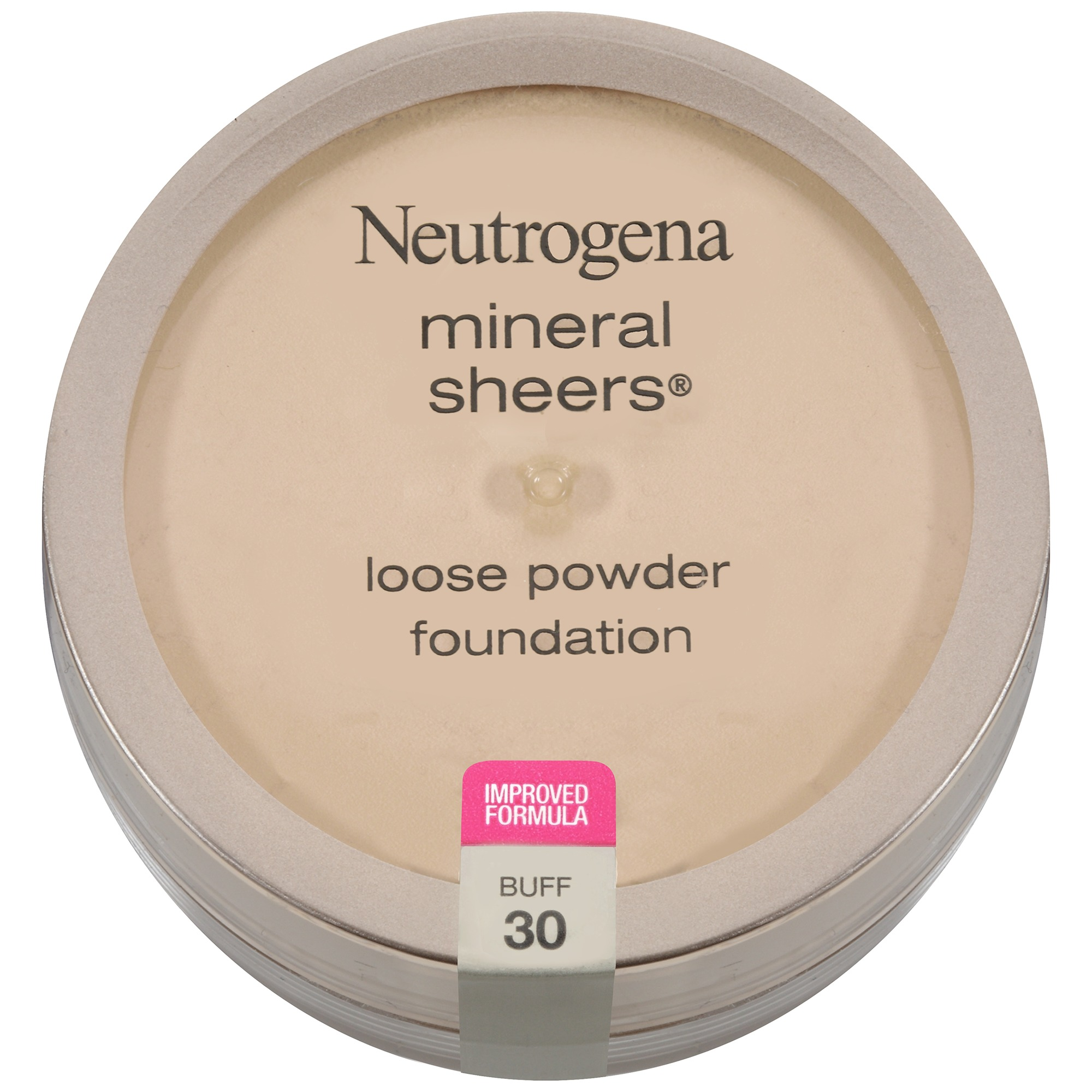 Neutrogena Mineral Sheers Loose Powder Foundation, Buff 30, .19 Oz