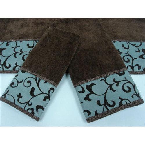 Easy Living Becall 3-Piece Decorative Towel Set