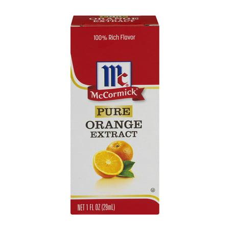 Mccormick Pure Orange Extract  1 0 Fl Oz
