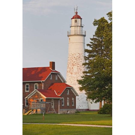 The USA, Michigan, Port Huron, Fort Gratiot, Lighthouse Print Wall Art By Rainer Mirau](Halloween Usa Michigan)