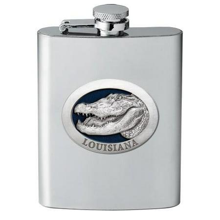 Alligator w/ Louisiana Flask