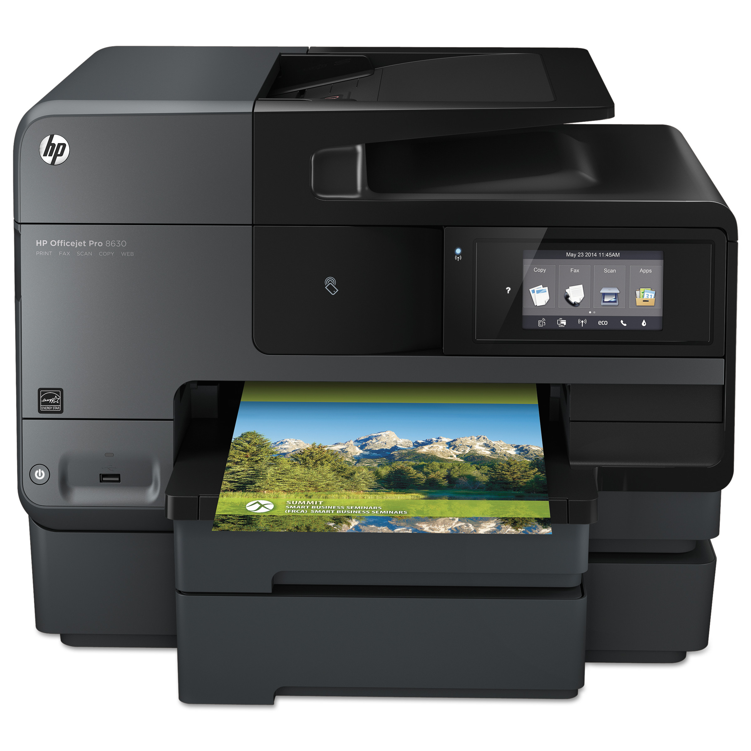 HP Officejet Pro 8630 e-All-in-One Wireless Inkjet Printer, Copy Fax Print Scan by HP