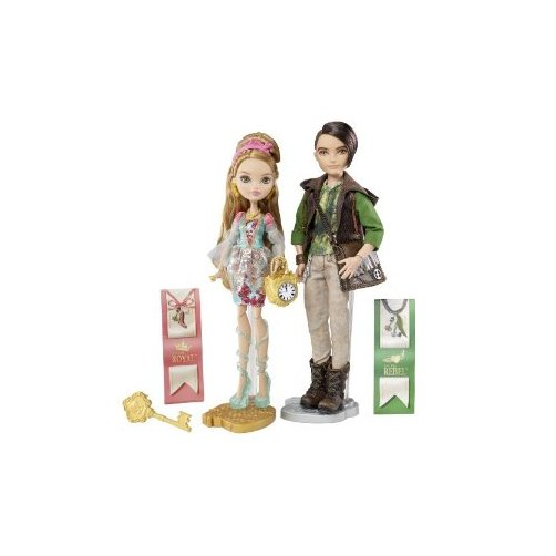Ever After High Ashlynn Ella and Hunter Huntsman Dolls by Mattel, Inc.