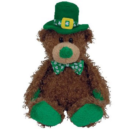 TY Beanie Baby - PATTY O' LUCKY the Irish Bear (Internet Exclusive) (9.5 inch)