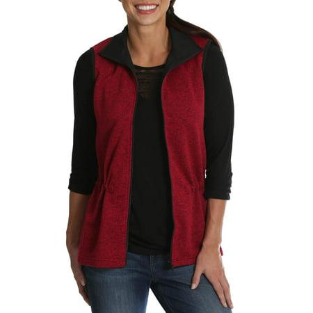 Women's Sweater Fleece Vest