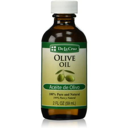 Image of De La Cruz 100% Pure and Natural Olive Oil, 2 fl oz